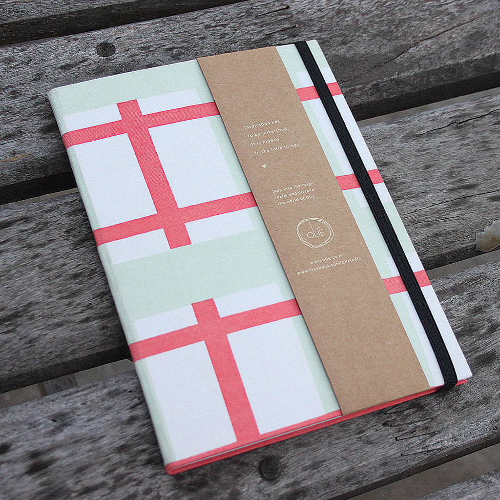 Mint & Coral Journal