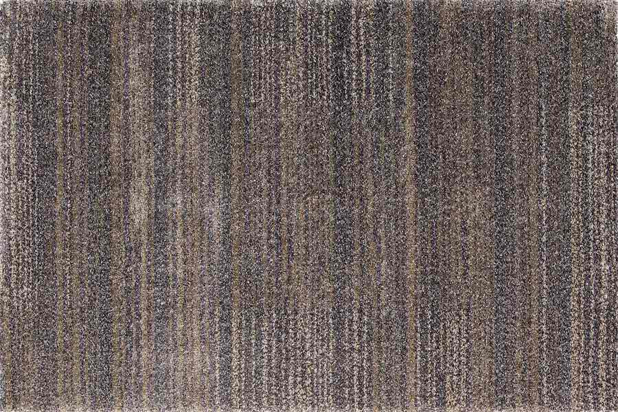 Lancaster Blue/Brown Striped Wool-Mix