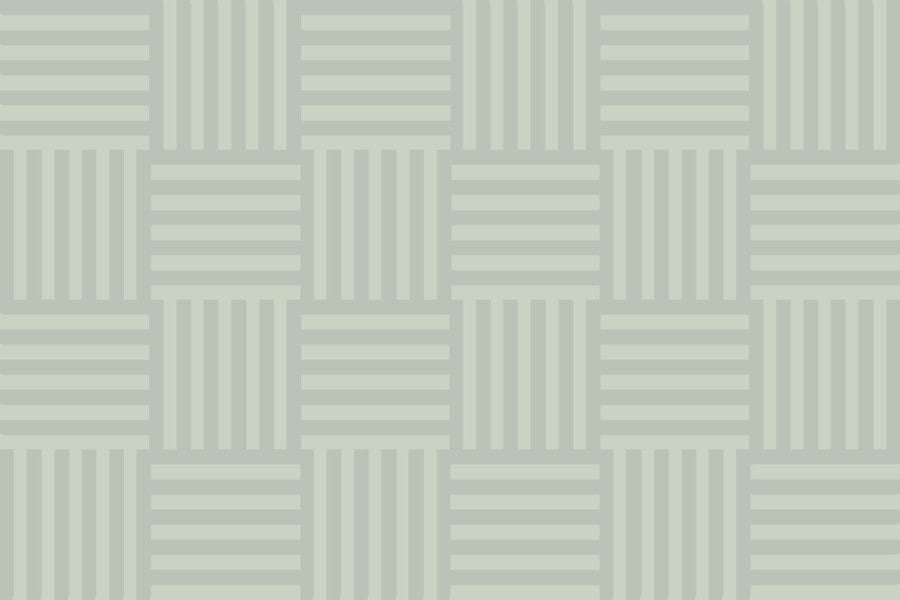 Paris Striped Green-Grey