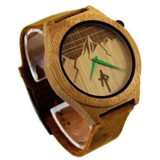 The Ridge - Bamboo Wooden Watch