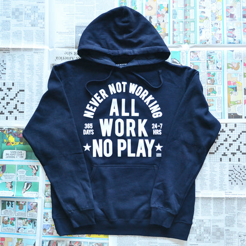 """ALWAYS WORKING"" PULLOVER SWEATER"