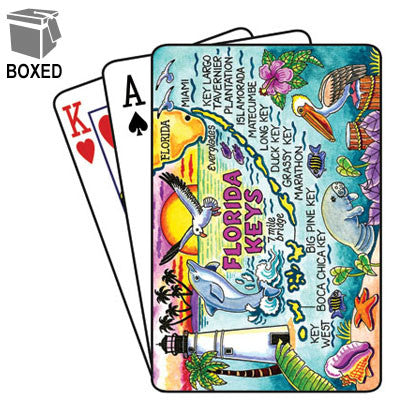 Florida Keys Playing Cards