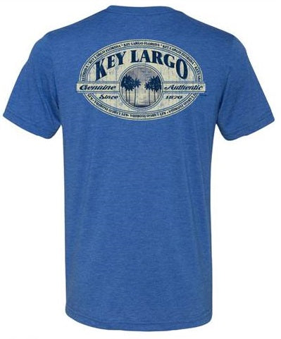 Key Largo Vintage Oval T-Shirt