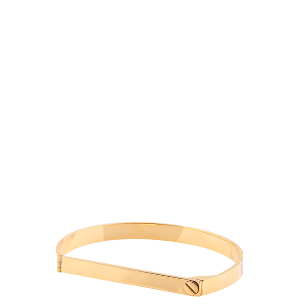 The Peach Box: Screw Bar Bangle Gold - Luxe Gifts™  - 1