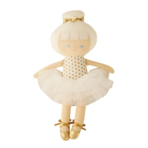 Alimrose: Baby Ballerina Doll Gold Star - Luxe Gifts™