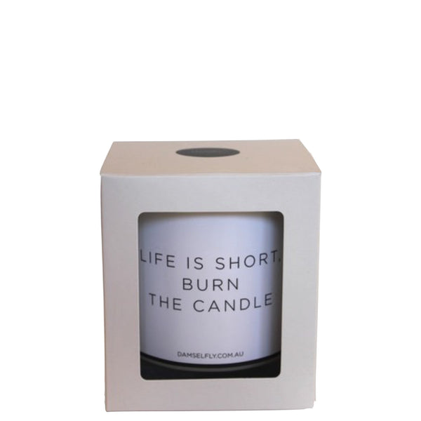 Damselfly: Life is short burn the candle - Luxe Gifts™  - 2