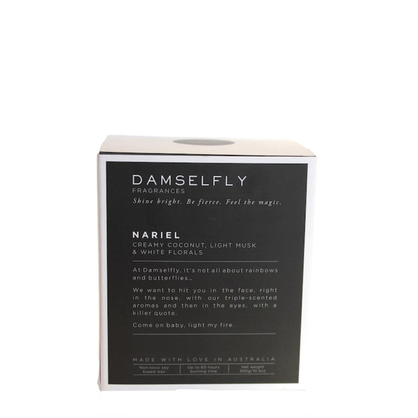 Damselfly: Life is short burn the candle - Luxe Gifts™  - 3