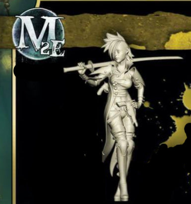 Viktoria of Ashes -  (M2E Sculpt) - Single Model From Hired Swords - WYR20501