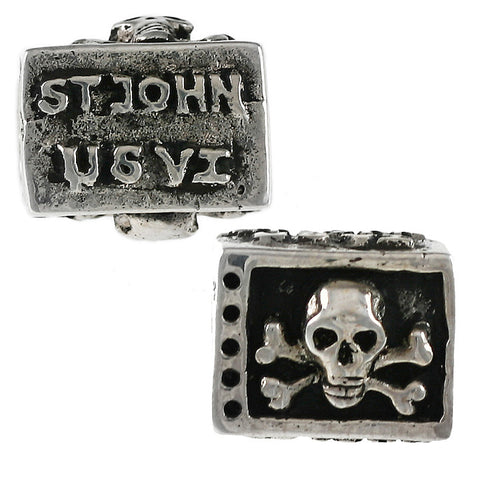 ST JOHN Virgin Islands Pirate Bead - Lone Palm Jewelry