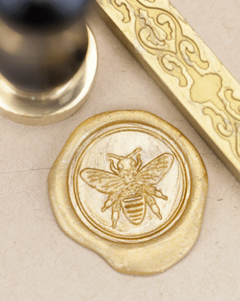 Honey Bee Wax Seal