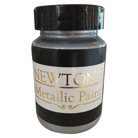 Silver Metallic Paint. - Newton's Chalk Finish Paint