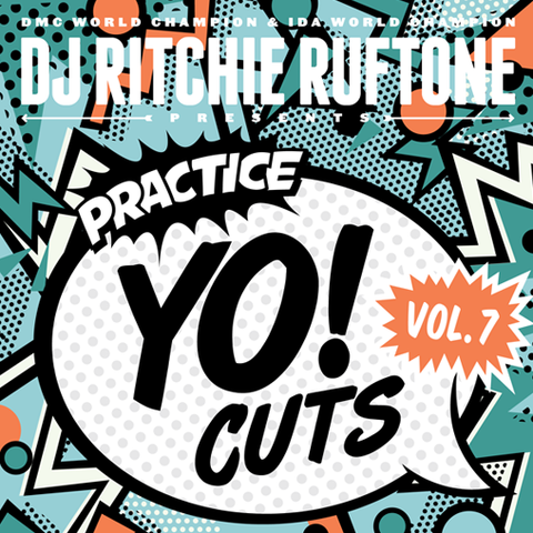 "Practice Yo! Cuts Vol. 2 12"" White Vinyl - TTW002W"