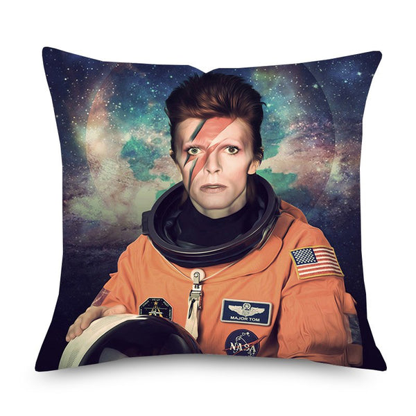 Major Tom David Bowie muso cushion cover