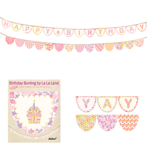 Bunting wall hanging rainbow fun kit - Six Things - 5