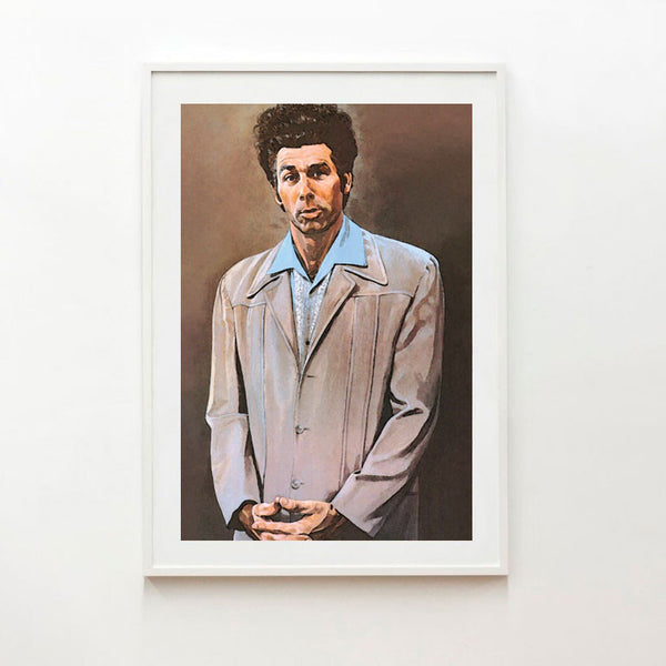 Seinfeld's Cosmo Kramer portrait poster print - Six Things - 1