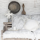 Niyama Cushion - Cushions - losari - bohemian fashion - white - soft - beautiful