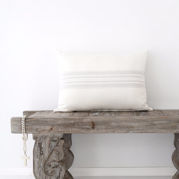 Belle Maison Cushion - Cushions - losari - bohemian fashion - white - soft - beautiful