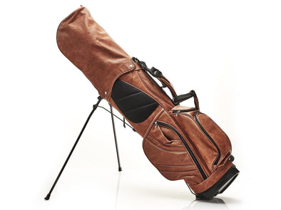 Deluxe Leather Golf Bag