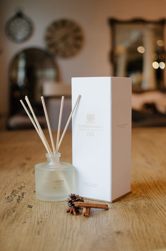 Cedar, Cloves & Ambergris Scented Reed Diffuser