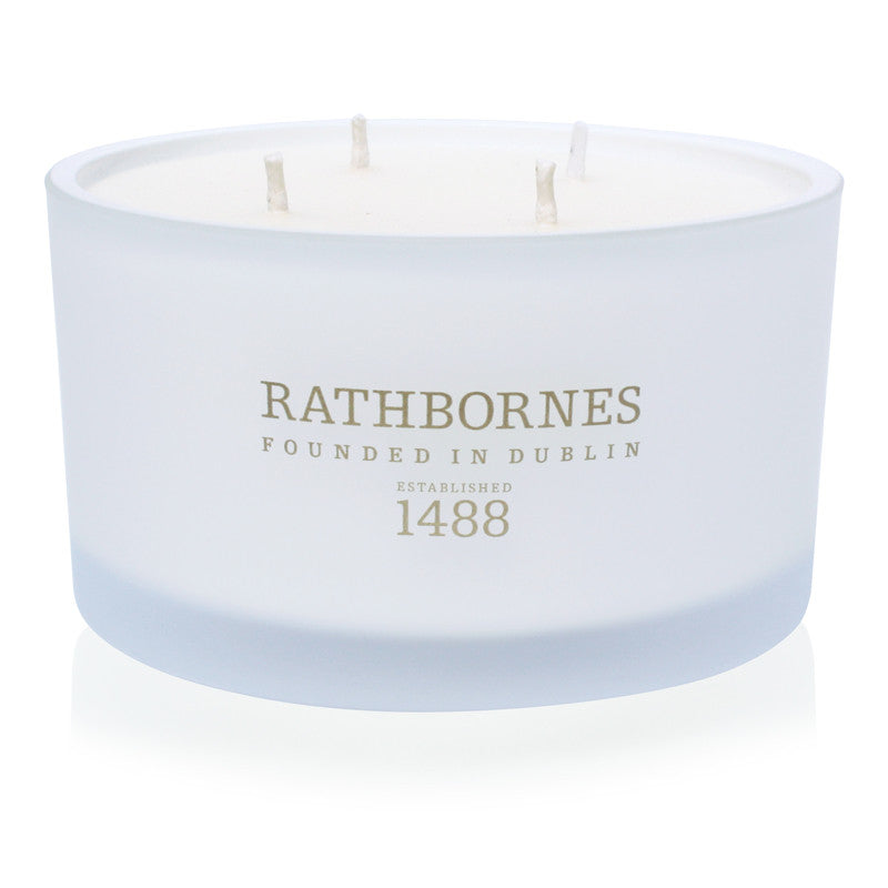 Dublin Tea Rose, Oud & Patchouli Scented Luxury Candle