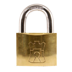 Fort Knox Padlock Brass 60mm