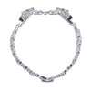 Janeo Swarovski Elements Panther Design Bangle Bracelet Links Christmas Gift Her