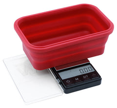 Truweight Crimson Collapsible Bowl Scale 200g x 0.01g