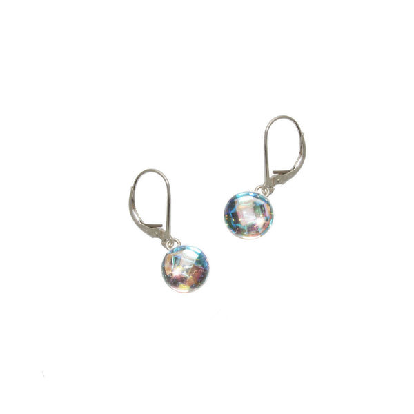 8mm Aurora Gumdrop Earrings