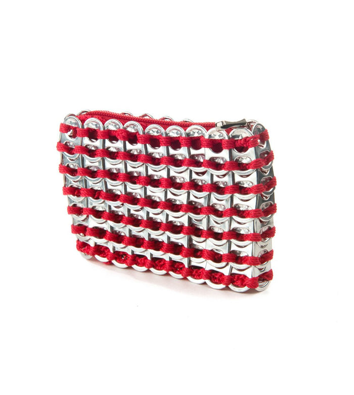 Bag - Chica Rosa Credit Card Case Red  Bags - PasParTou