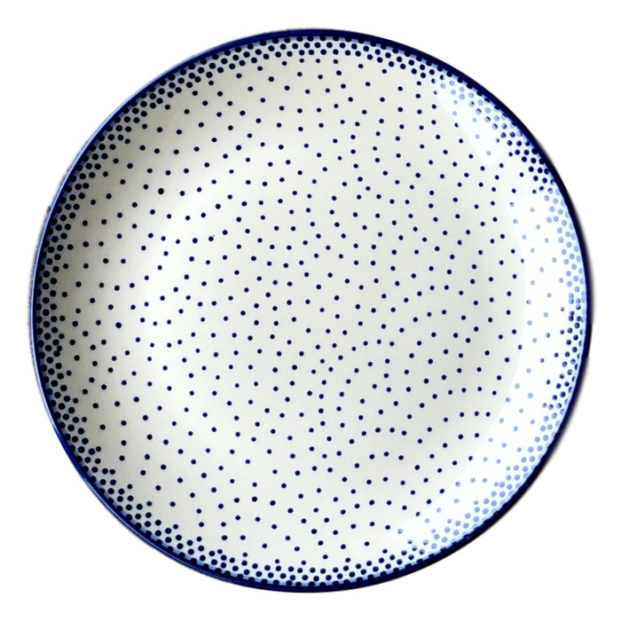 Tiny Blue Dots - Salad Plate