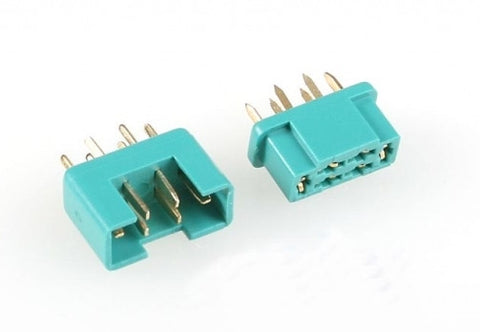 2 Genuine 6 Pin Multiplex Connectors