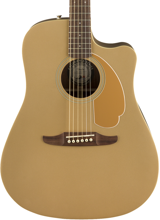 Fender Redondo Player Acoustic Electric Guitar - Bronze Satin with Bag