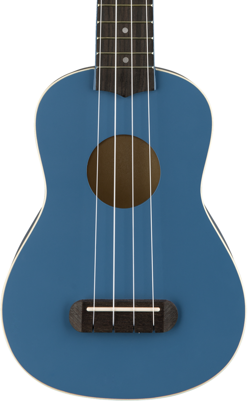 Fender Venice Soprano Ukulele Lake Placid Blue