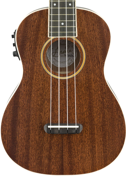 Fender Grace Vanderwaal Signature Uke Walnut Fingerboard Natural Finish Ukulele