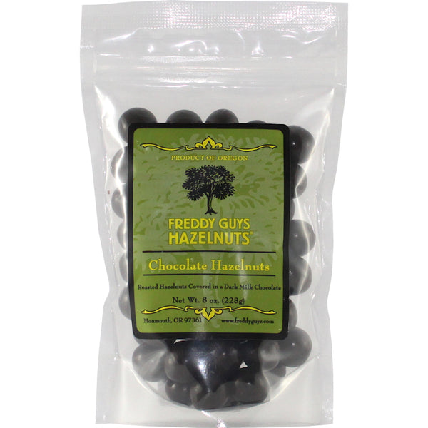 Milk Chocolate Covered Oregon Hazelnuts