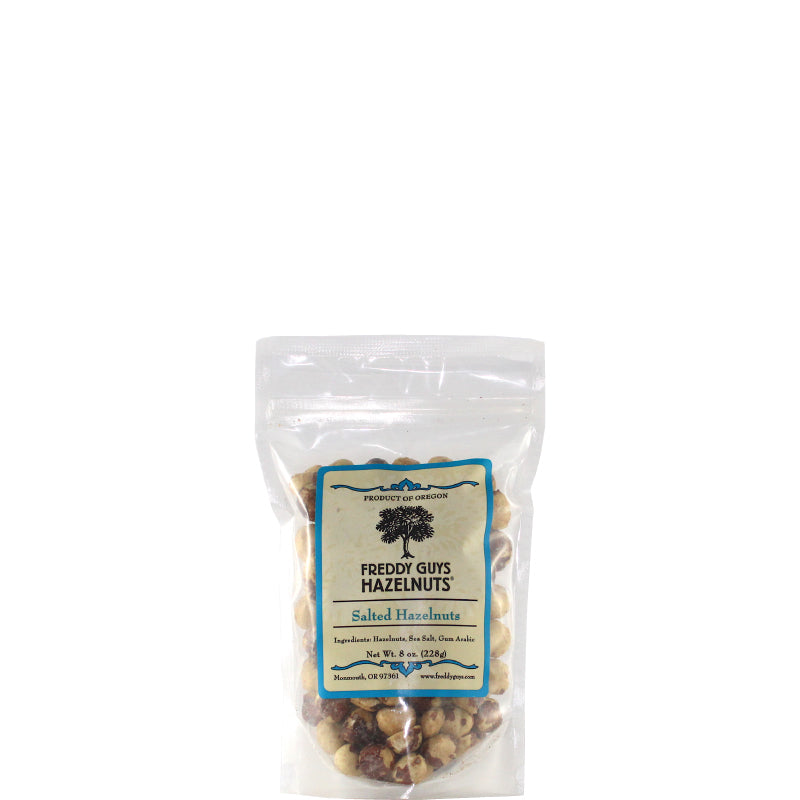 Salted Oregon Hazelnuts