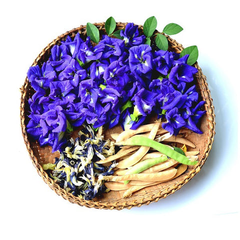 Butterfly Pea Flowers Dried (Bulk)