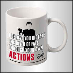 "Boyd Crowder ""Actions"" Mug"