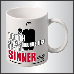"Boyd Crowder ""Sinner"" Mug"