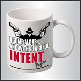 "Raylan Givens ""Intent"" Mug"