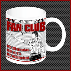 "Rick Grimes ""Fan Club"" Mug"