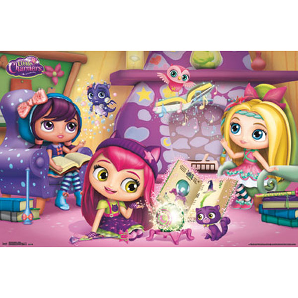 Little Charmers Wall Poster