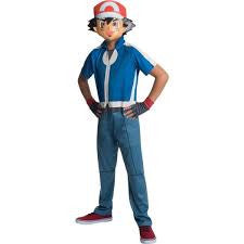 Pokemon Trainer Ash Halloween Costume