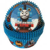 thomas train baking cups