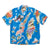 Silk/Rayon Pacific-Atlantic Aloha Shirt - Blue