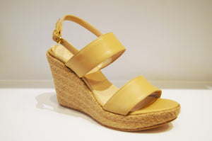 ZEPPONE in BEIGE LEATHER ESPADRILLE