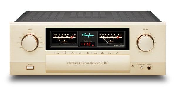 Accuphase E-480 180W/ch Integrated Stereo Amplifier