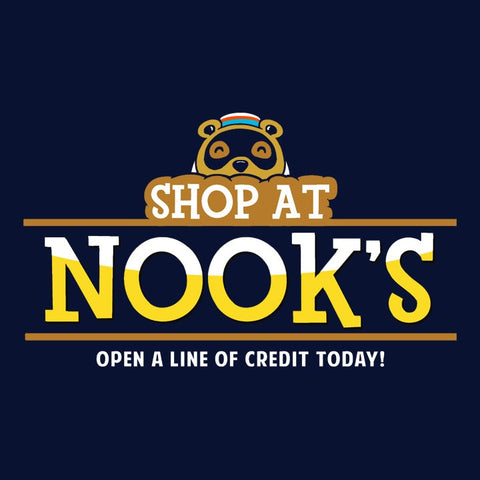 Shop At Nook's, Navy Mens (Unisex) Tee by BootsTees