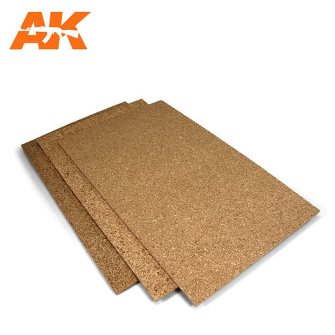 Cork Sheet - COARSE Grain (200mm x 300mm x 3mm)