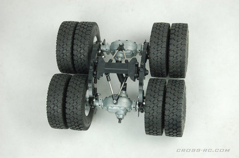 KC Or UC Series Twin Wheel Conversion Kit With Alloy Axles And Suspension